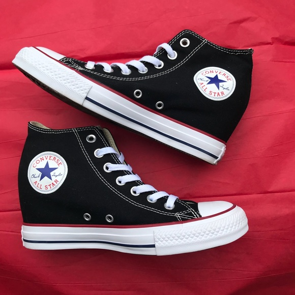 f09424d086bb Converse Shoes - Wedge Converse 8.5